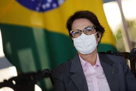 Ministra da Agricultura, Tereza Cristina  15/07/2020 REUTERS/Adriano Machado