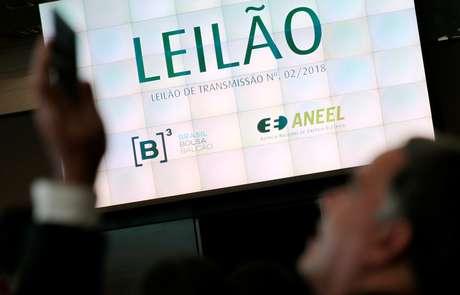 Imagem de leilão na B3, a bolsa de valores de São Paulo  28/06/2018 REUTERS/Leonardo Benassatto