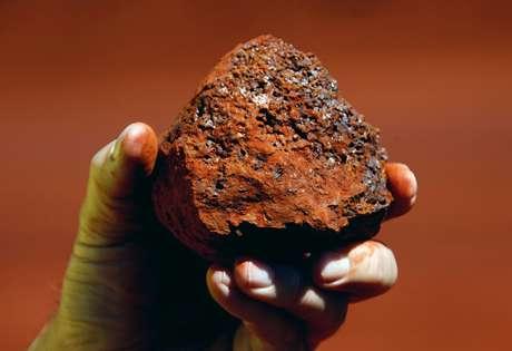 Minério de ferro.  REUTERS/David Gray/File photo