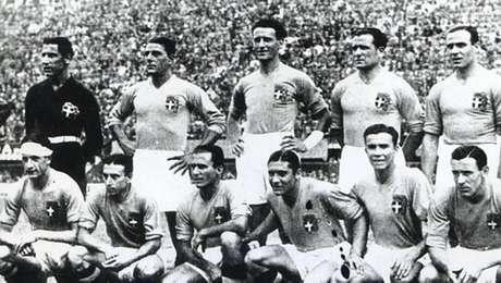 Com o reforço de Filó, a seleção italiana ganhou a Copa de 1934