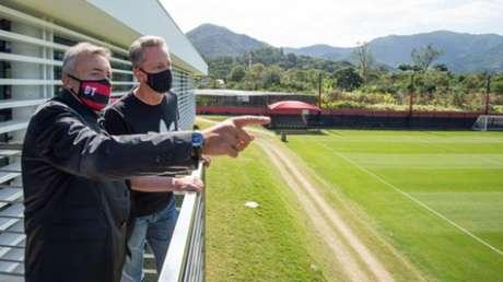 Torrent deixou o Fla após 99 dias (Foto: Alexandre Vidal / Flamengo)