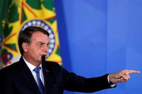 Presidente Jair Bolsonaro no Palácio do Planalto 07/10/2020 REUTERS/Ueslei Marcelino
