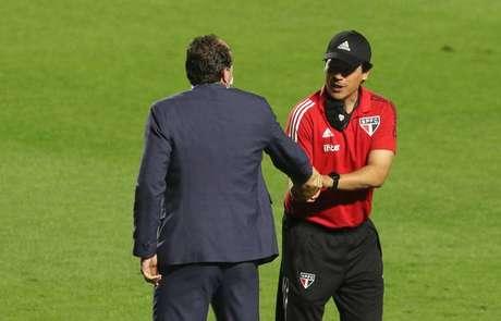 Rogério estará no comando do Flamengo contra o São Paulo (Rubens Chiri/saopaulofc.net)