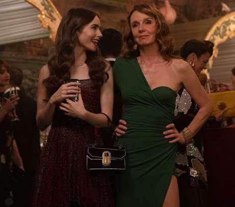 A atriz afirma ter um estilo muito diferente da esnobe personagem Sylvie, que debocha a todo momento da 'caipira' Emily