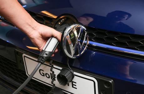 Volkswagen Golf GTE é um híbrido plug-in, ou seja, pode ser carregado na tomada.