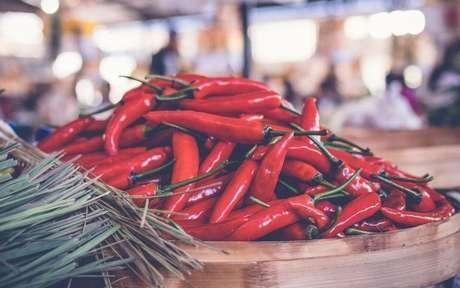 Conheça as utilidades energéticas das pimentas -