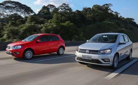 Volkswagen Gol e Voyage usam plataforma de 2002: atual geração foi lançada em 2008.