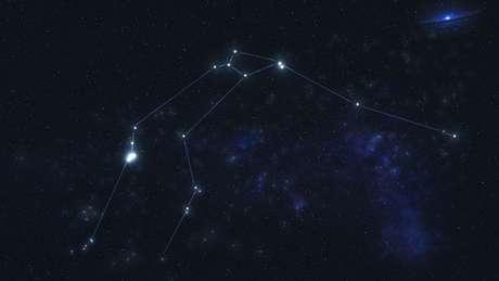 O planeta está 'escondido' na constelação de Aquário, a cerca de 202 anos-luz de distância