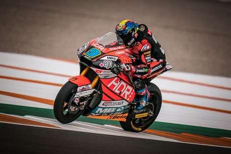 Jorge Navarro comandou a Moto2 na sexta-feira