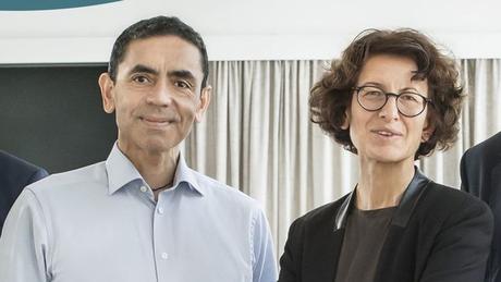Ugur Sahin e Öezlem Türeci, casal de fundadores da BioNTech