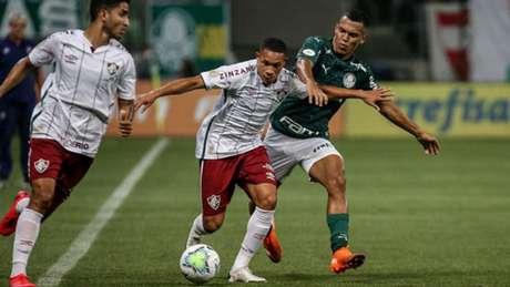 'O que teve foi dificuldade de traduzir em situações perigosas e gol.', diz Odair Hellmann (LUCAS MERÇON / FLUMINENSE F.C.)