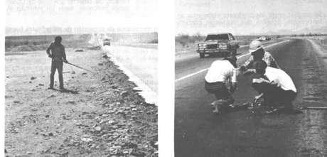 Grânulos de cobalto-60 foram detectados até em uma rodovia pela qual passou um veículo com ferro contaminado