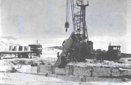 O caminhão dirigido por Sotelo Aldarín foi enterrado no depósito de lixo