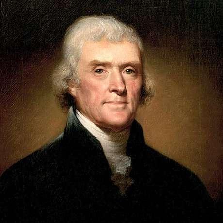 A transição entre John Adams e Thomas Jefferson (ilustração) também foi conturbada