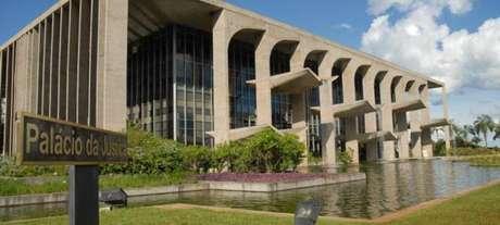 O prédio do Ministério da Justiça
