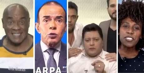 Kid Bengala, Chiquinho Scarpa, Wellington Camargo e Neném estão entre os famosos que não foram eleitos em 2020