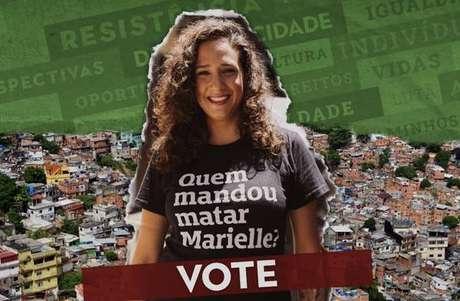 Mônica Benício foi a 11ª vereadora com a maior quantidade de votos no Rio de Janeiro