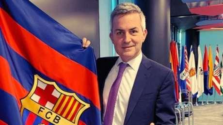 Víctor Font, candidato à presidência do Barcelona (Foto: Reprodução / Instagram)