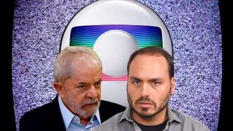 Lula e Carluxo não poupam críticas à Globo