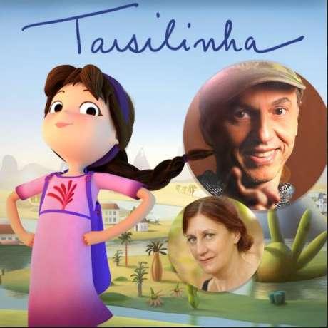 """Zeca Baleiro e Ná Ozzetti cantam trilha do filme """"Tarsilinha"""""""
