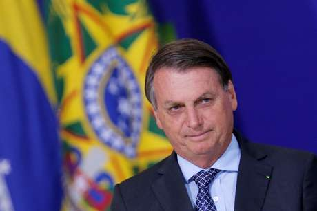 Presidente Jair Bolsonaro durante cerimônia no Palácio do Planalto 09/11/2020 REUTERS/Adriano Machado