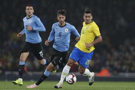 Brasil encara o Uruguai nesta terça-feira (Foto: Lucas Figueiredo/CBF)