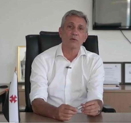 Campello comentou sobre a conturbada eleição do Vasco e afirmou o imbróglio atrapalha o clube(Reprodução)