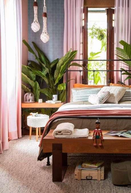 9. Casa organizada com quarto arrumado – Via: Casa Vogue