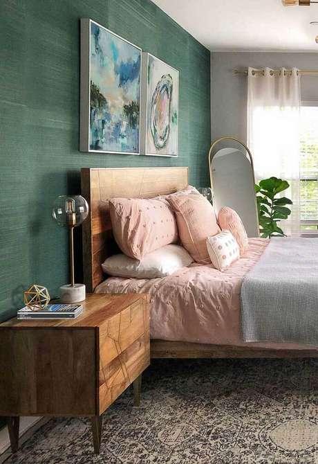 2. Casa organizada com cama arrumada – Via: Pinterest