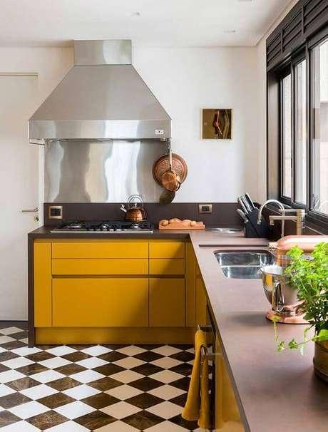 7. Casa organizada e cozinha limpa – Via: Casa de Valentina