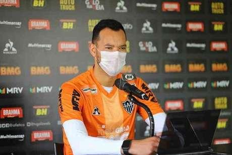 O capitão Réver é mais contaminado pela Covid-19 no Atlético-MG-(Pedro Souza/Atlético-MG)