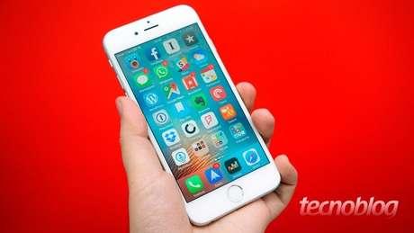 iPhone 6s (Imagem: Paulo Higa/Tecnoblog)