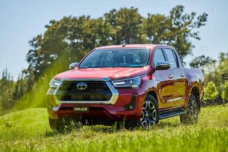 Nova picape Toyota Hilux 2021: modificações em busca da liderança perdida.