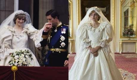 the crown serie recria os looks originais da princesa diana terra