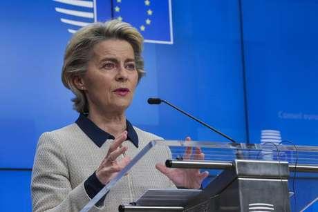 Declaração foi dada pela presidente da Comissão Europeia