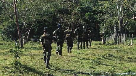 As Forças de Autodefesa Camponesa de Magdalena Medio são uma das muitas estruturas paramilitares que operaram na Colômbia