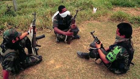 Muitos recrutas eram menores de idade quando se juntaram ao grupo paramilitar
