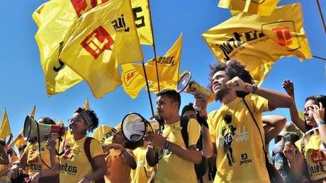 O coletivo Juntos, que reúne jovens de 25 Estados, tem entre seus membros dirigentes e políticos do PSOL