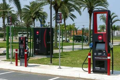 Postos de recarga de veículos elétricos da EDP