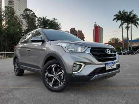 Hyundai Creta: bom mês de vendas em março e expectativa de ultrapassar o Jeep Renegade.