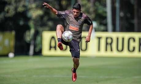 Savarino voltou da seleção venezuelana e se estiver tudo certo com seu exame, deverá estar em campo diante do Ceará, domingo, 22 de novembro-(Bruno Cantini/Atlético-MG)