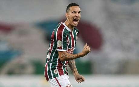 Dodi não treinará mais com o elenco e está fora do Fluminense em 2021 (Foto: LUCAS MERÇON / FLUMINENSE F.C)