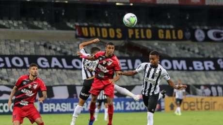 O Galo perdeu a chance de disparar na liderança do Brasileiro-(Pedro Souza / Agência Galo / Atlético)