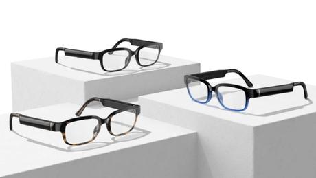 Nova geração do Amazon Echo Frames vem em três opções de cores (Imagem: Divulgação/Apple)