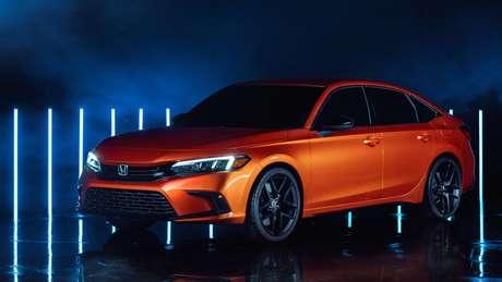 Protótipo do Honda Civic da 11ª geração: fabricação no Brasil é incerta.