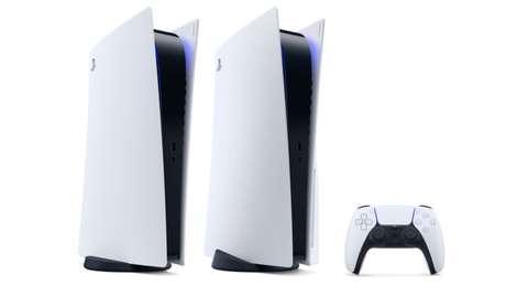 PS5 chega ao Brasil com seus dois modelos (Imagem: Sony/Divulgação)
