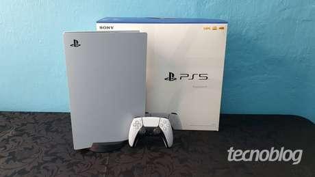 PlayStation 5 (Imagem: Vivi Werneck/Tecnoblog)
