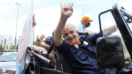 Marcio França ficou em 3º lugar no primeiro turno, com 13,6% dos votos válidos