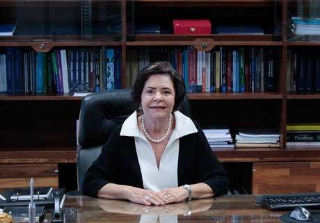 Ana Arraes, ministra do TCU, em seu gabinete em Brasília.