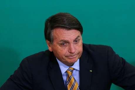 Presidente Jair Bolsonaro no Palácio do Planalto 17/11/2020 REUTERS/Adriano Machado